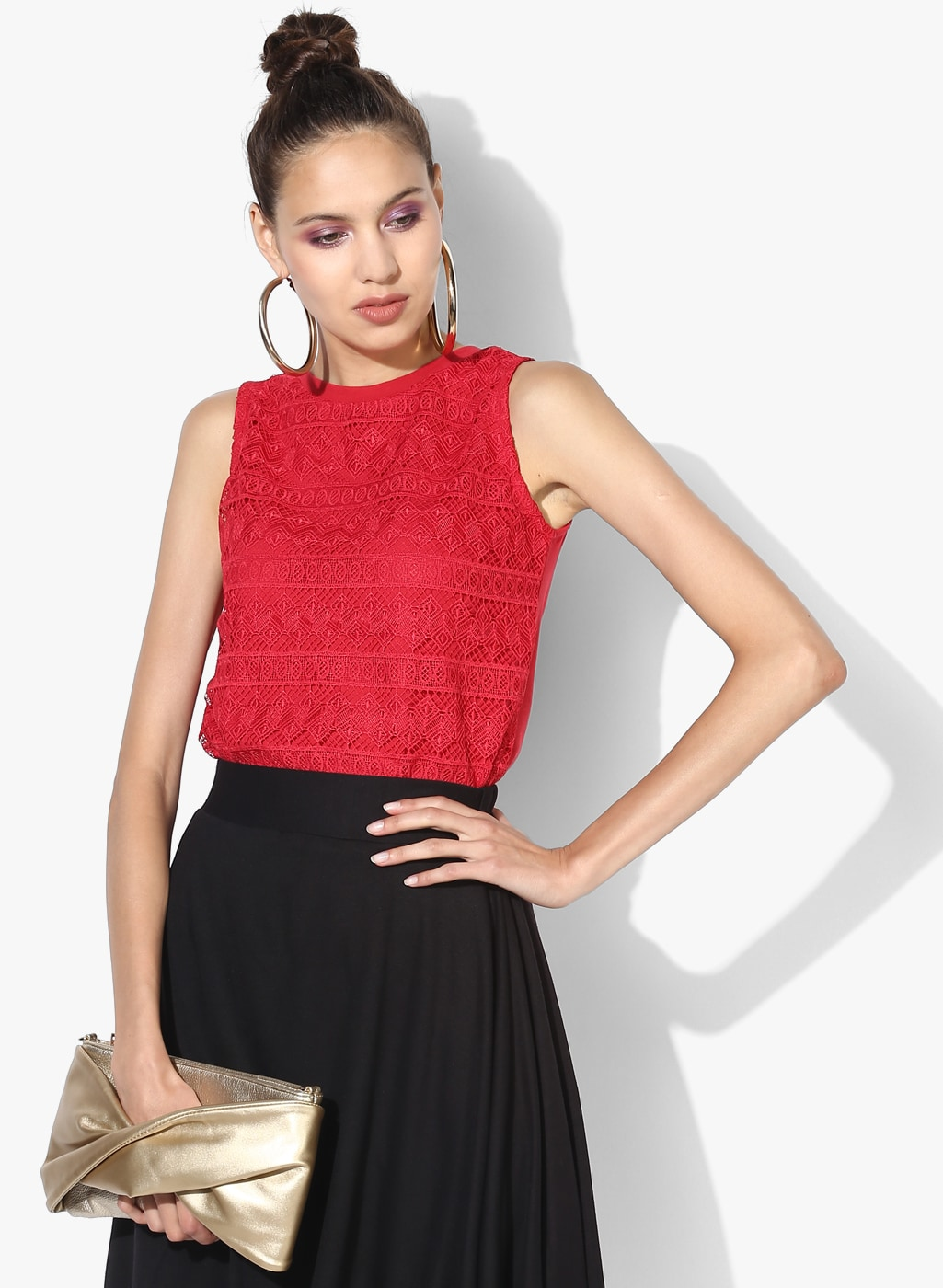 d6ca295d59 Red Top - Buy Red Tops Online at Best Price in India
