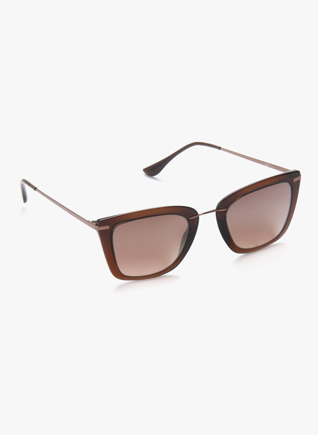 0836b71c88e36 Barbara Cat Eye Sunglasses Brown - Buy Barbara Cat Eye Sunglasses Brown  online in India