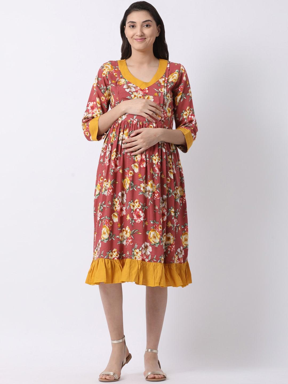 14a6c1ffd7e5 Maternity Women Dresses - Buy Maternity Women Dresses online in India