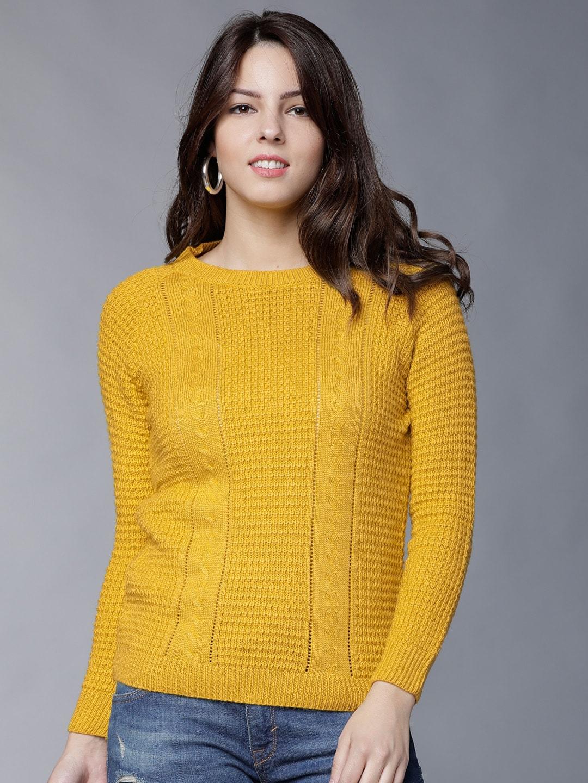 aeaaebf0e7 Sweaters for Women - Buy Womens Sweaters Online - Myntra