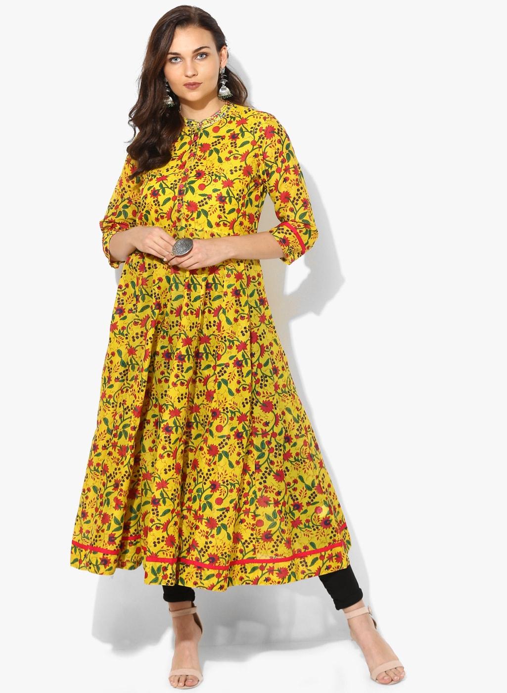 5b7543aece Kurtis Online - Buy Designer Kurtis   Suits for Women - Myntra