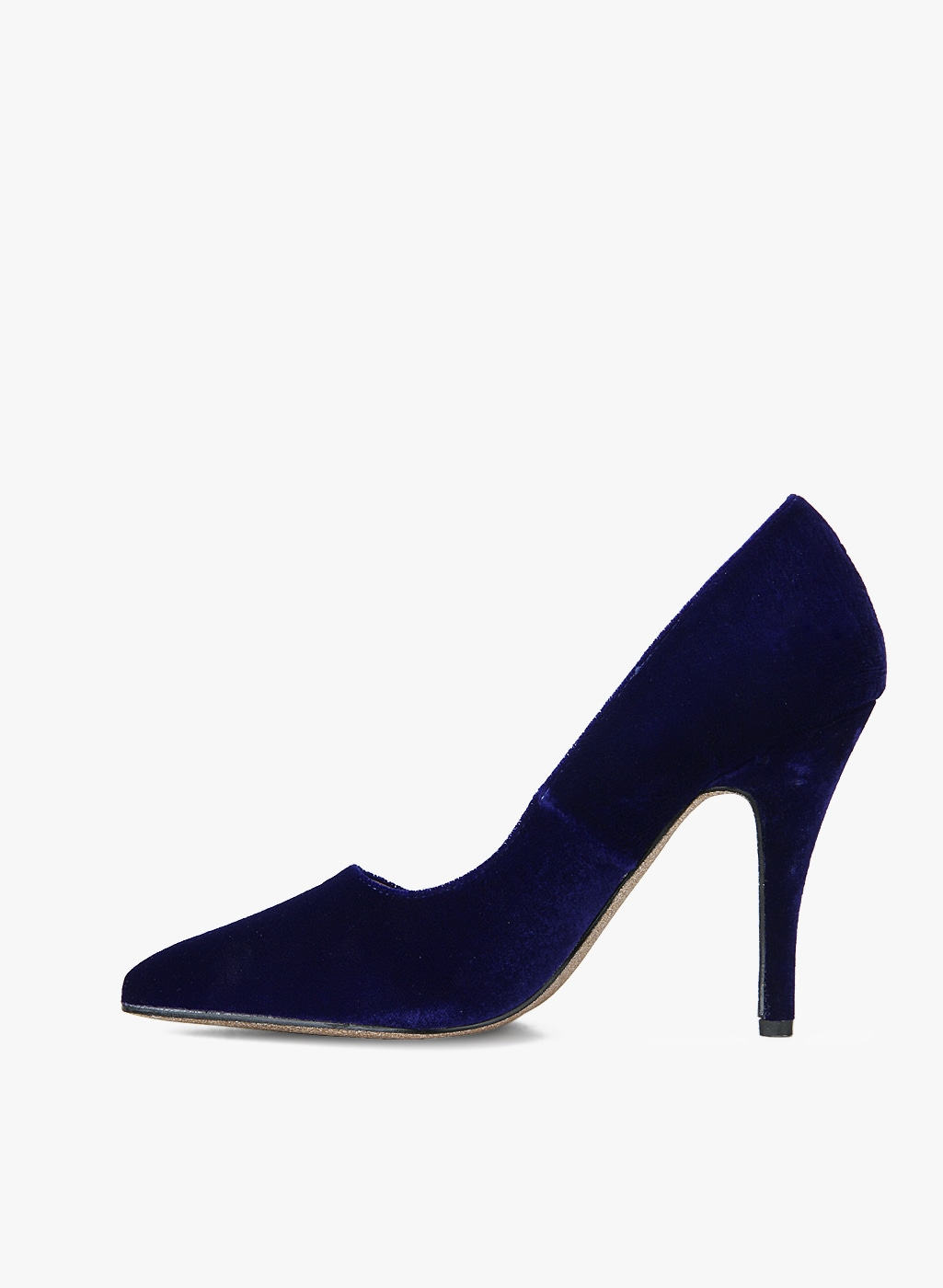 DOROTHY PERKINS Navy Blue Solid Pumps