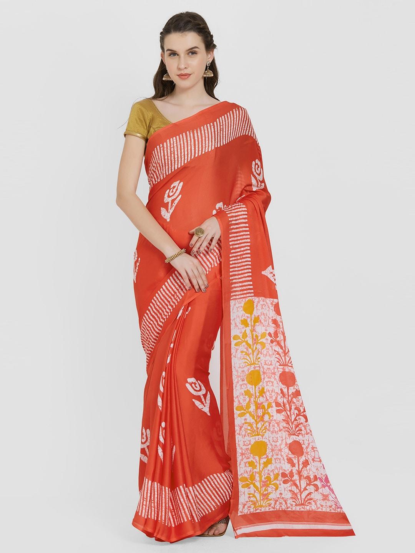 9dec27fd6ac4d Rangoli Designs Stoles Printed Saree - Buy Rangoli Designs Stoles Printed Saree  online in India