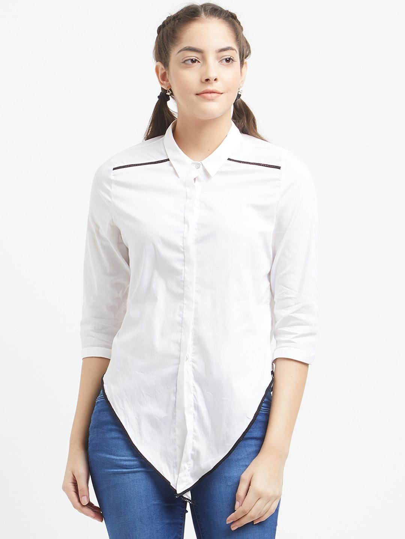 dbe09db151ced4 Women White Shirt Earrings - Buy Women White Shirt Earrings online in India