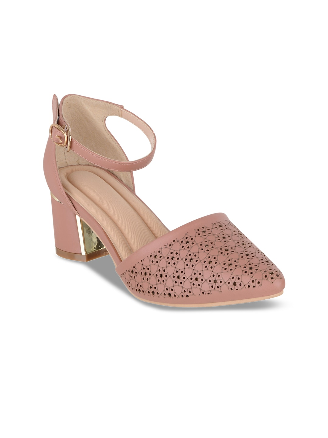 5b9e89a709a5 Nude Heels - Buy Nude Heels online in India
