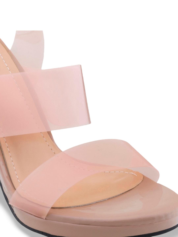 SHUZ TOUCH Women Pink Solid Heels