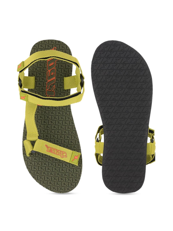 Sparx Women Green Sports Sandals