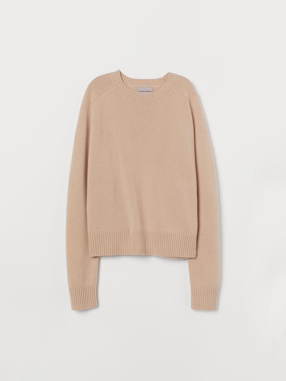 H&M Peach-Coloured Cashmere Jumper