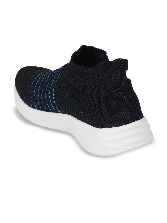 OFF LIMITS Men Navy Blue Mesh Walking Shoes