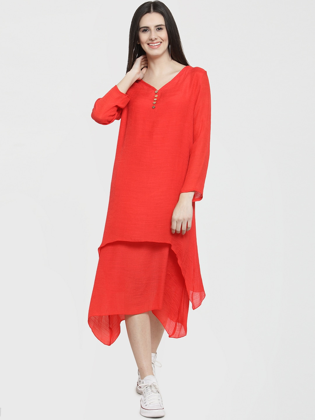 af4e82e59 Red Dress - Buy Trendy Red Colour Dresses Online in India