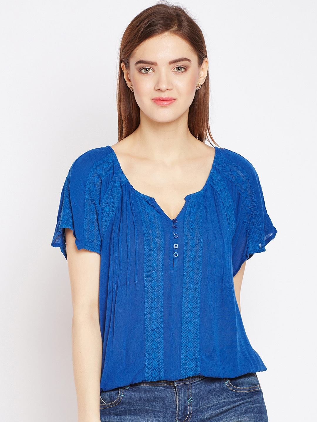 33fc1019164f1 Chiffon Tops - Buy Chiffon Tops for Women Online