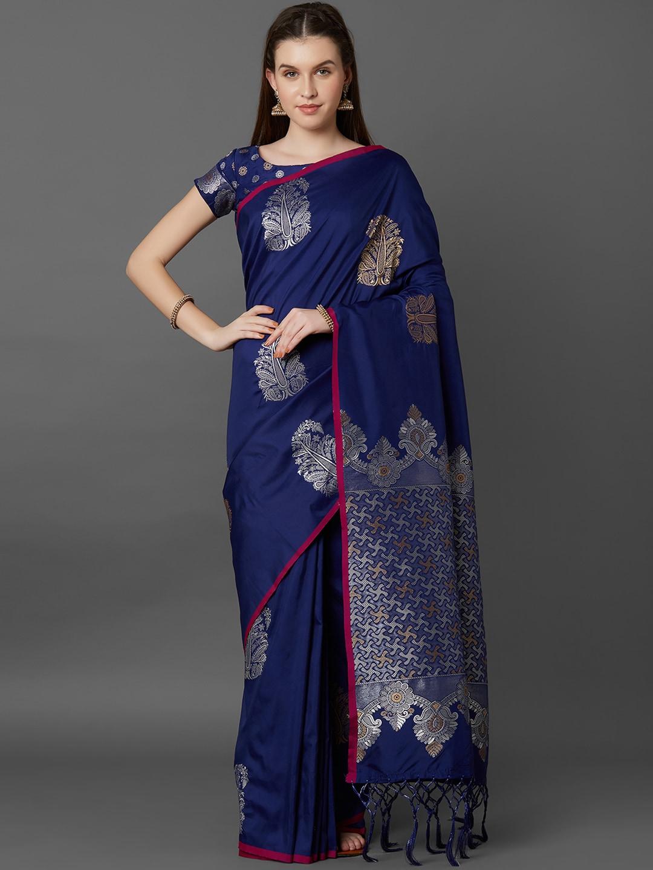 632ead1080c5 Banarsi Saree - Authentic Banarsi Sarees Online - Myntra