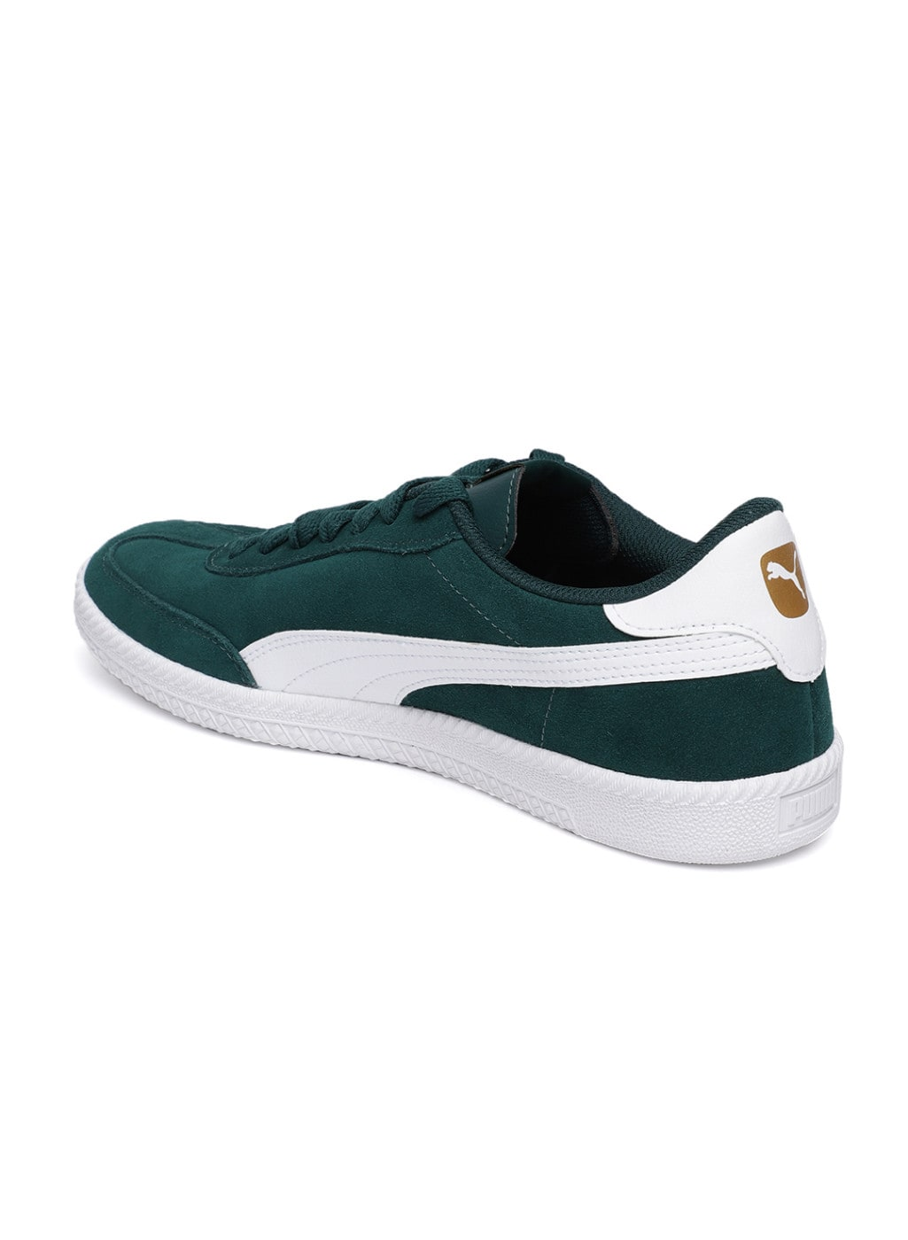 Puma Olive Green Carson 2 Molded Suede Sneakers 4774701.htm