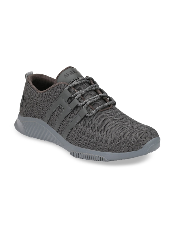 AfroJack Men Grey Sneakers