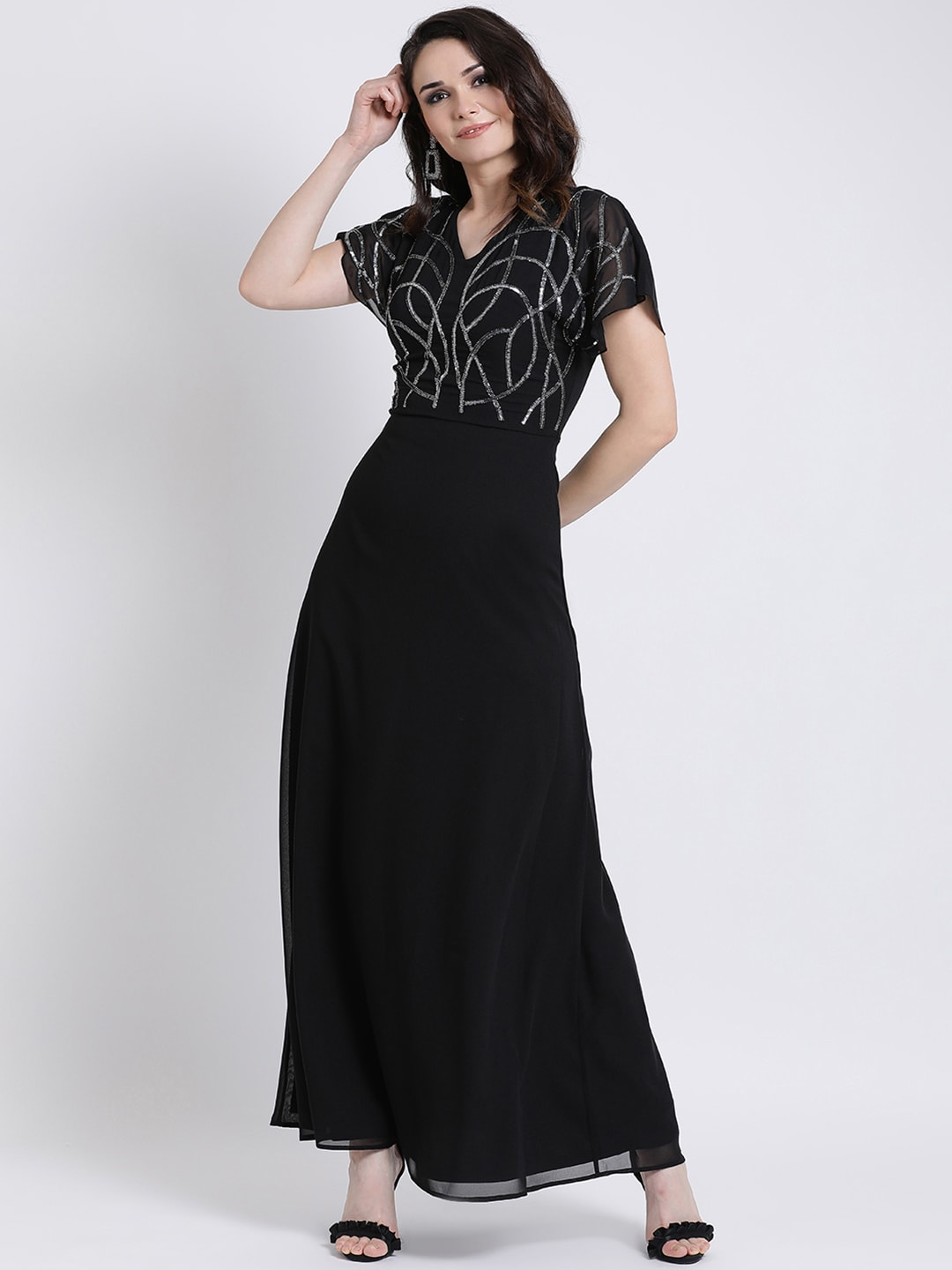 c1c3a702b8f Long Dresses - Buy Maxi Dresses for Women Online in India - Upto 70% OFF