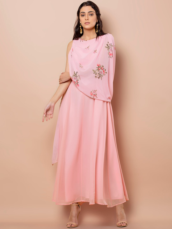 38b297e60951 Pink Dress - Buy Pink Dresses For Women Online | Myntra