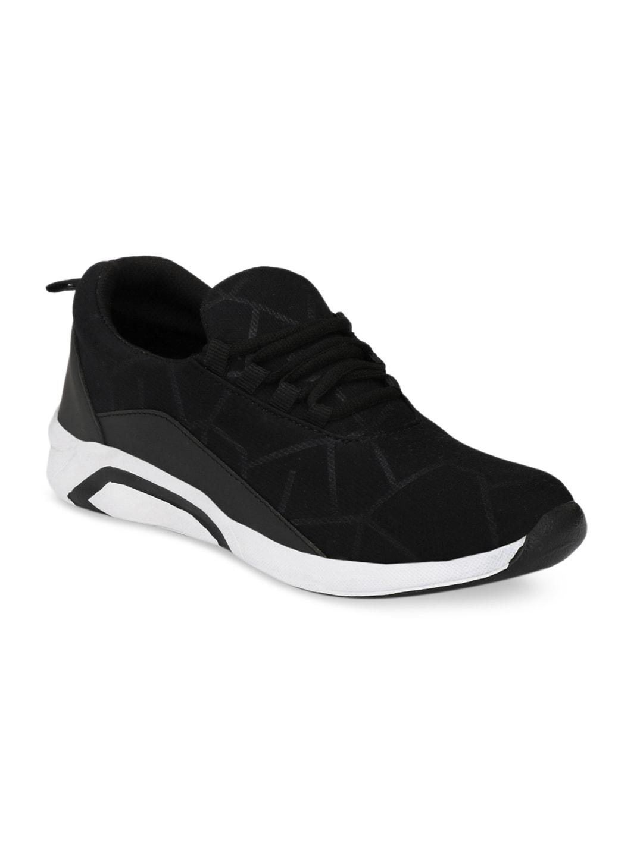 Mactree Men Black Sneakers