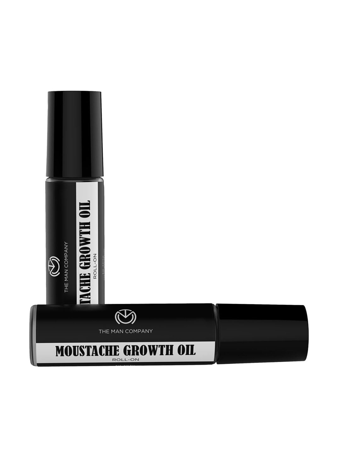 THE MAN COMPANY Set of 2 Moustache Growth Roll-On Oil