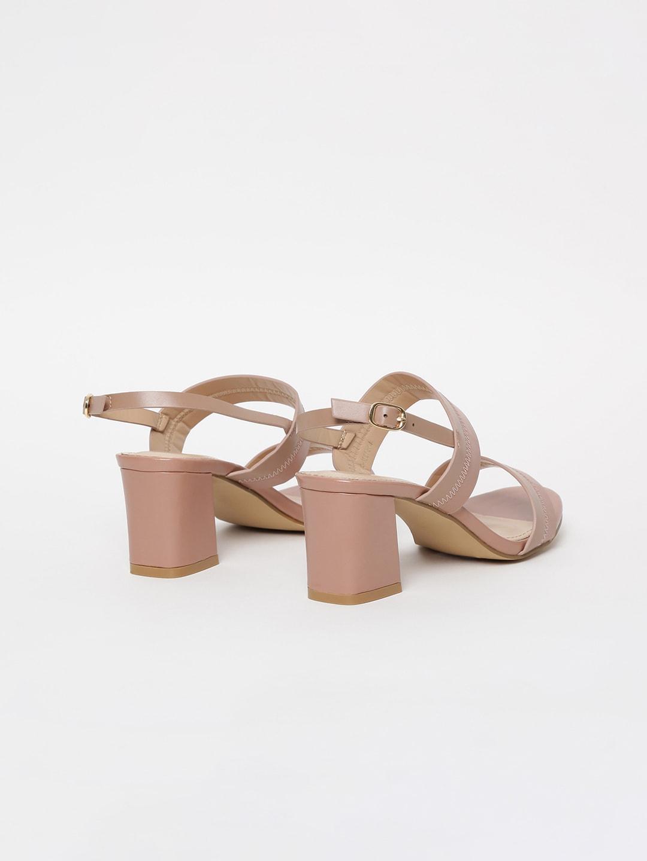 CODE by Lifestyle Women Beige Solid Heels