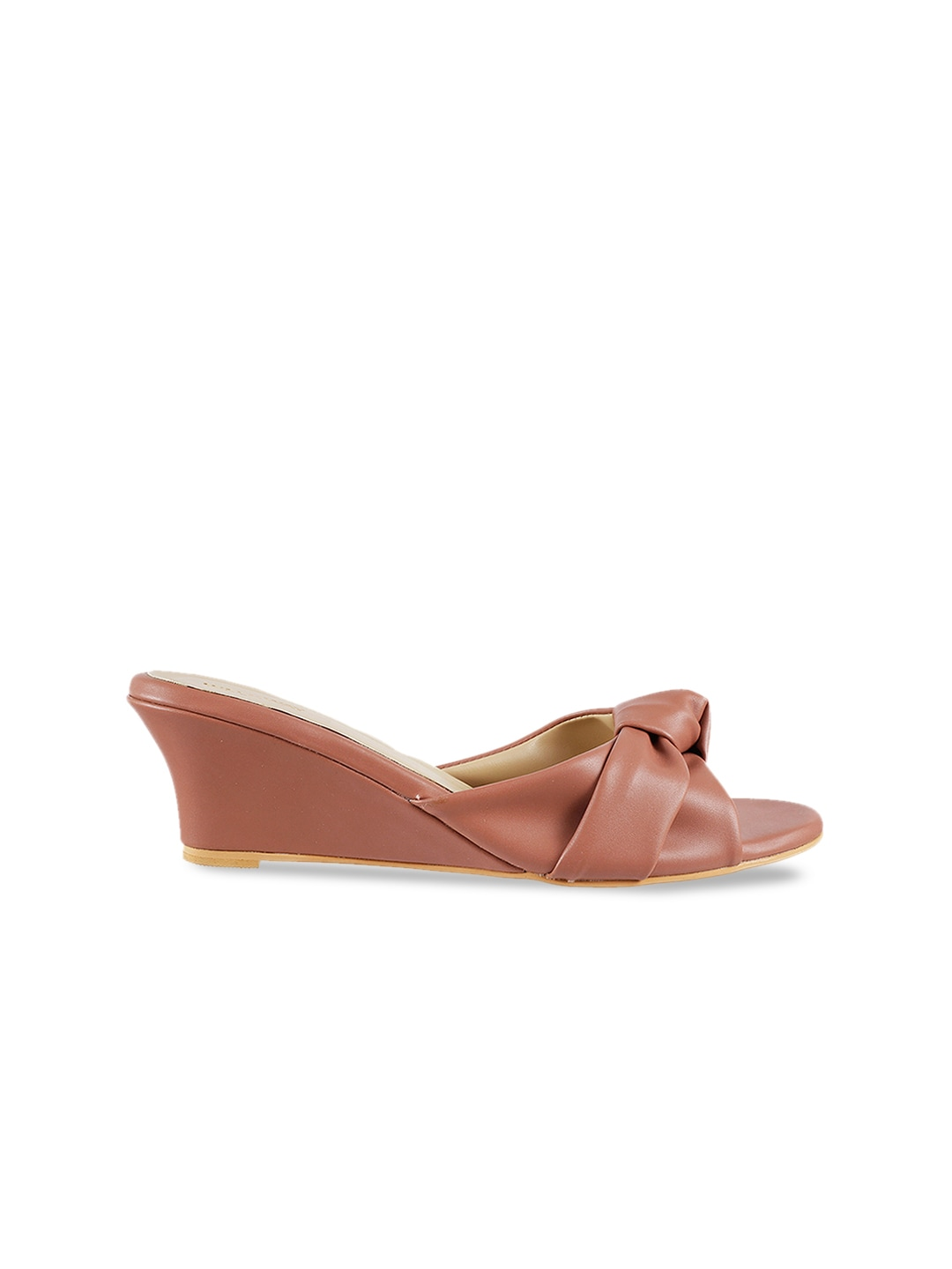 WALKWAY Women Pink Solid Wedges