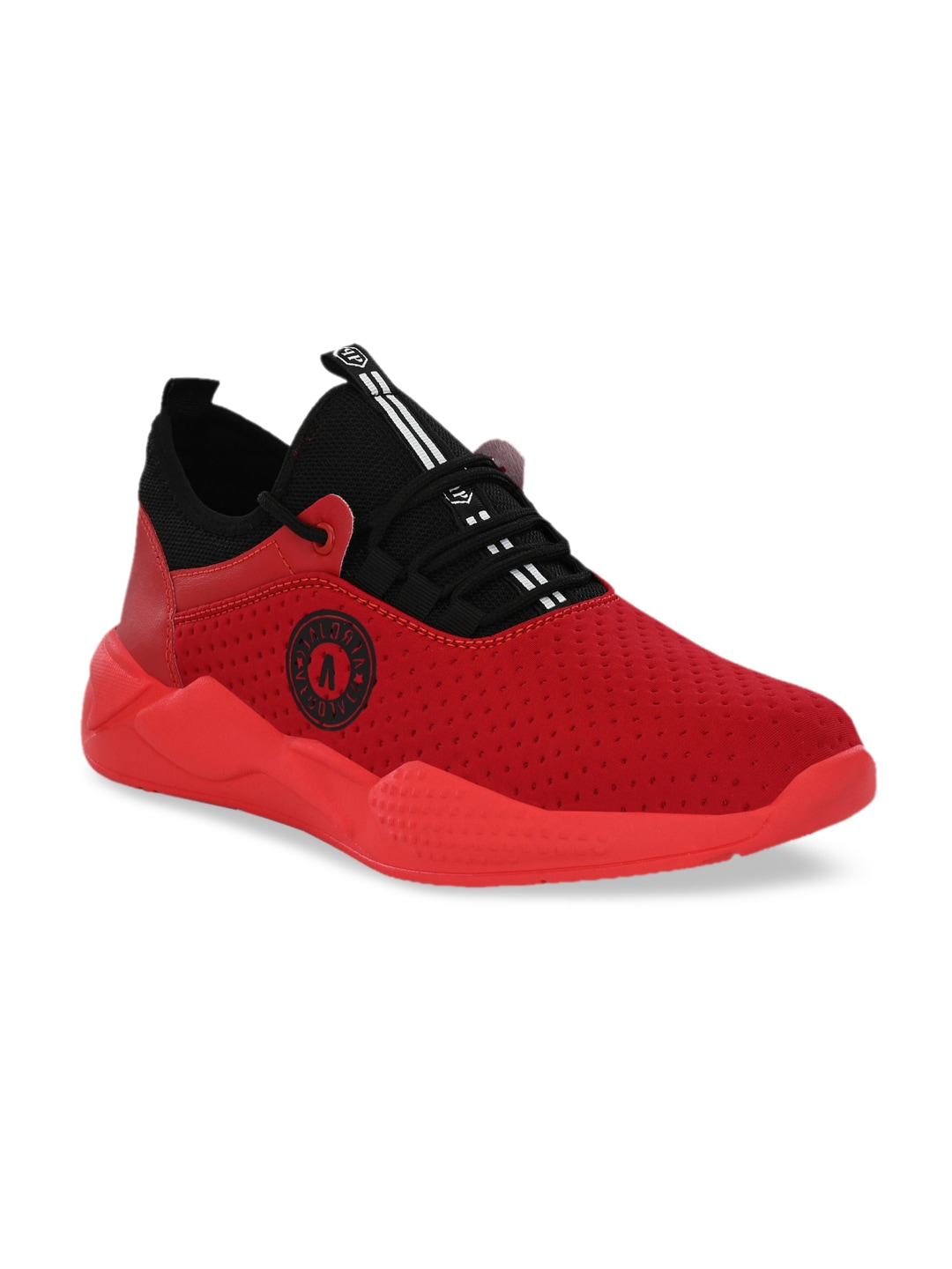 AfroJack Men Red Mid-Top Training or Gym Shoes