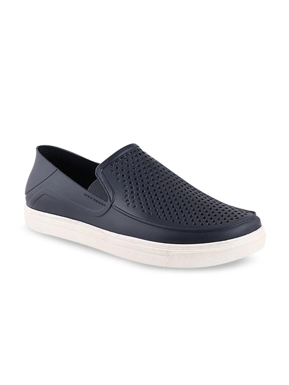 Histeria Men Navy Blue Slip-On Sneakers