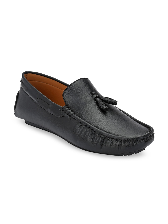 Provogue Men Black Solid Formal Loafers