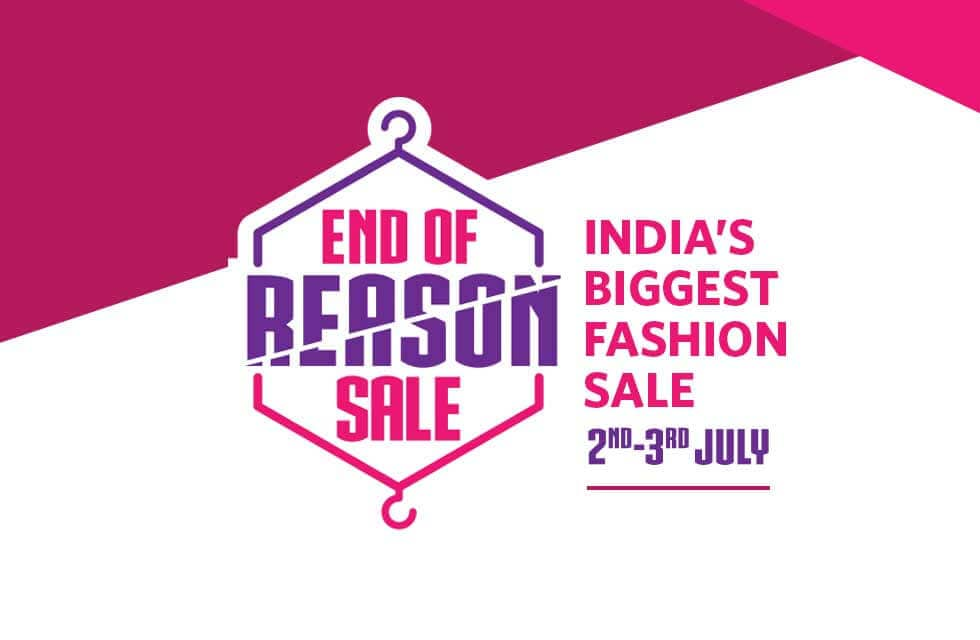 Myntra End of Reason Sale