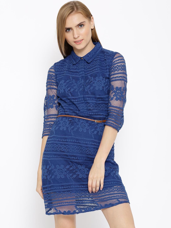 Vero moda blue lace dress
