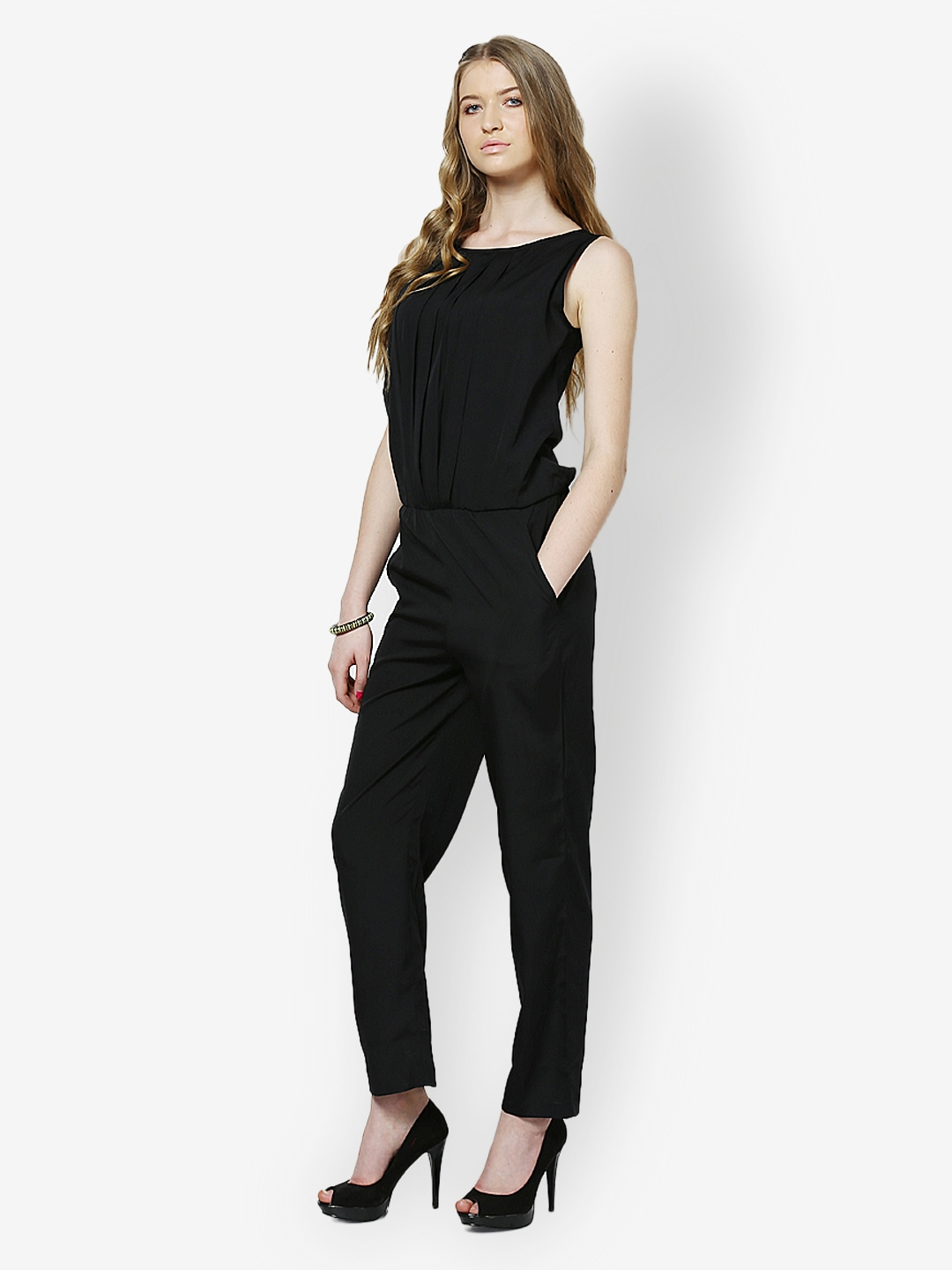 d87aefe48d8 Buy Magnetic Designs Women Black Jumpsuit 1305081 for women online in india  on Myntra at Yebhi.com