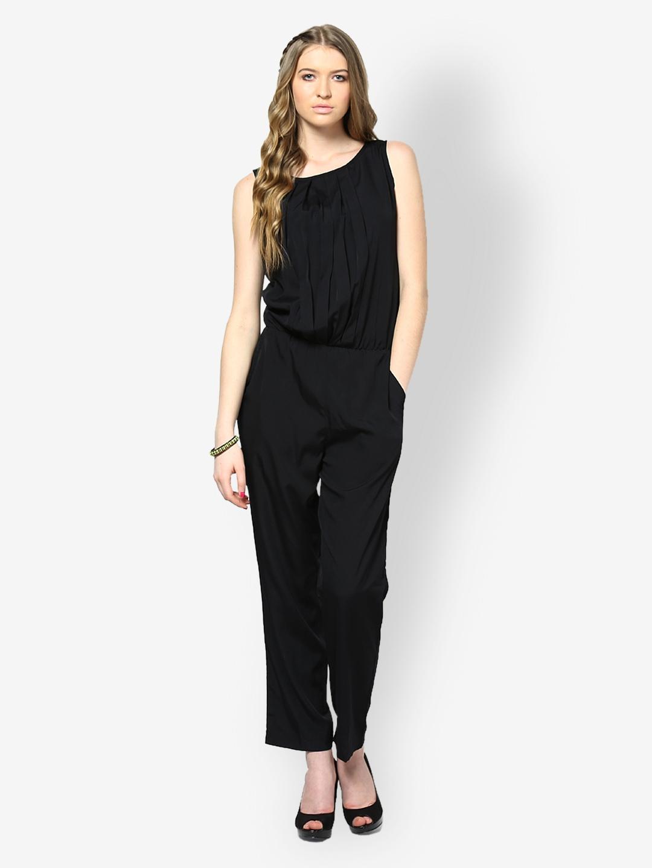 75cf4e20bcd Buy Magnetic Designs Women Black Jumpsuit 1305081 for women ...