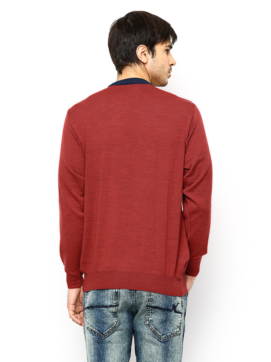 5440a1d7dd11 Buy Monte Carlo Men Red Woollen Sweater 2984943 for men online in india on  Myntra at Yebhi.com