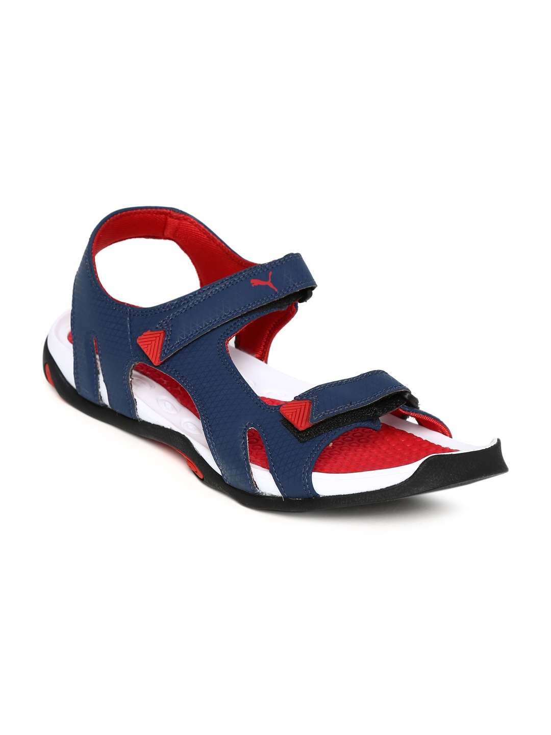 03a89a596e Buy Puma Men Navy Jamey DP Sports Sandals (brown) 7511229 for men online in  india on Myntra at Yebhi.com
