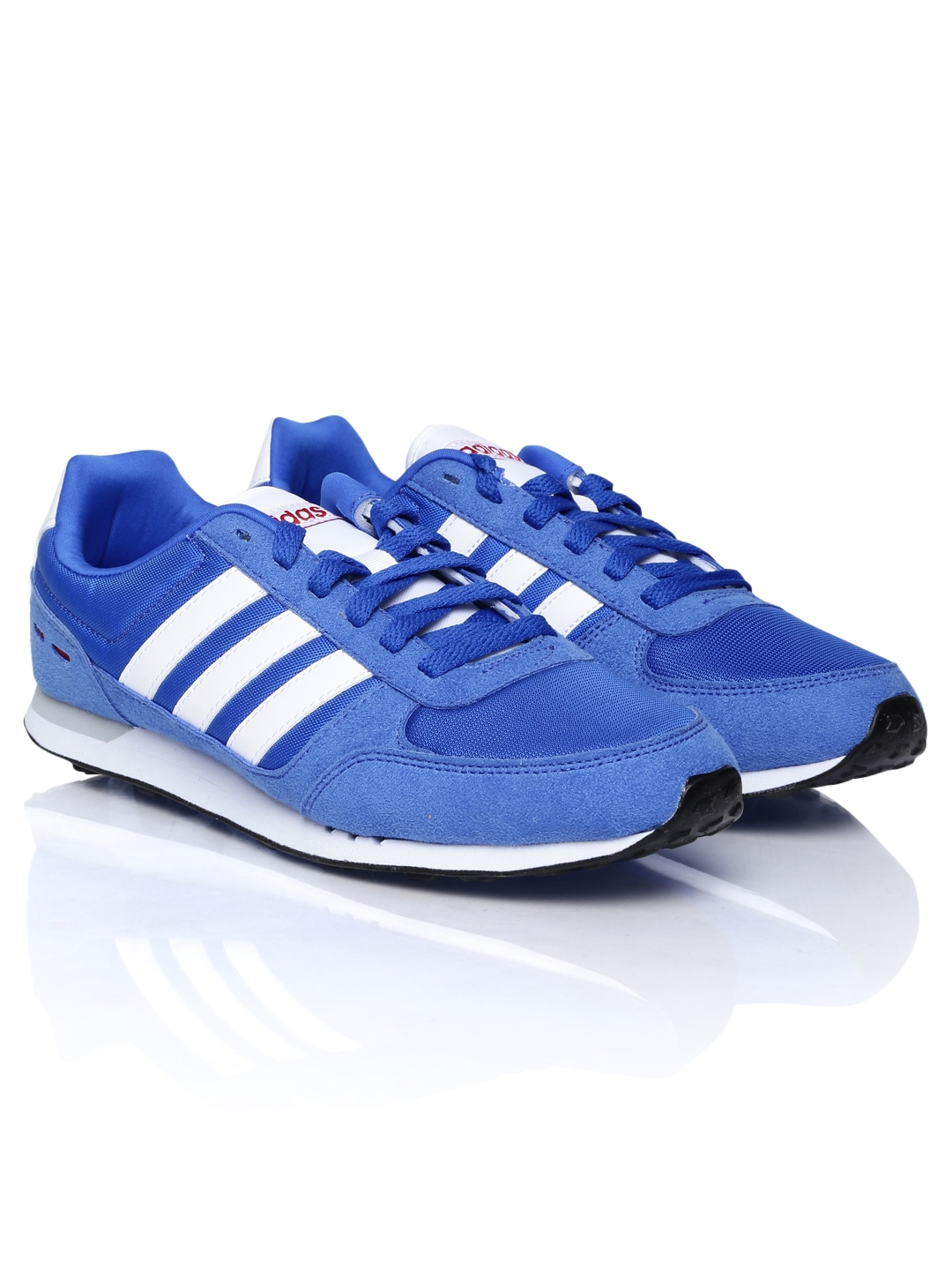 adidas neo blue and white