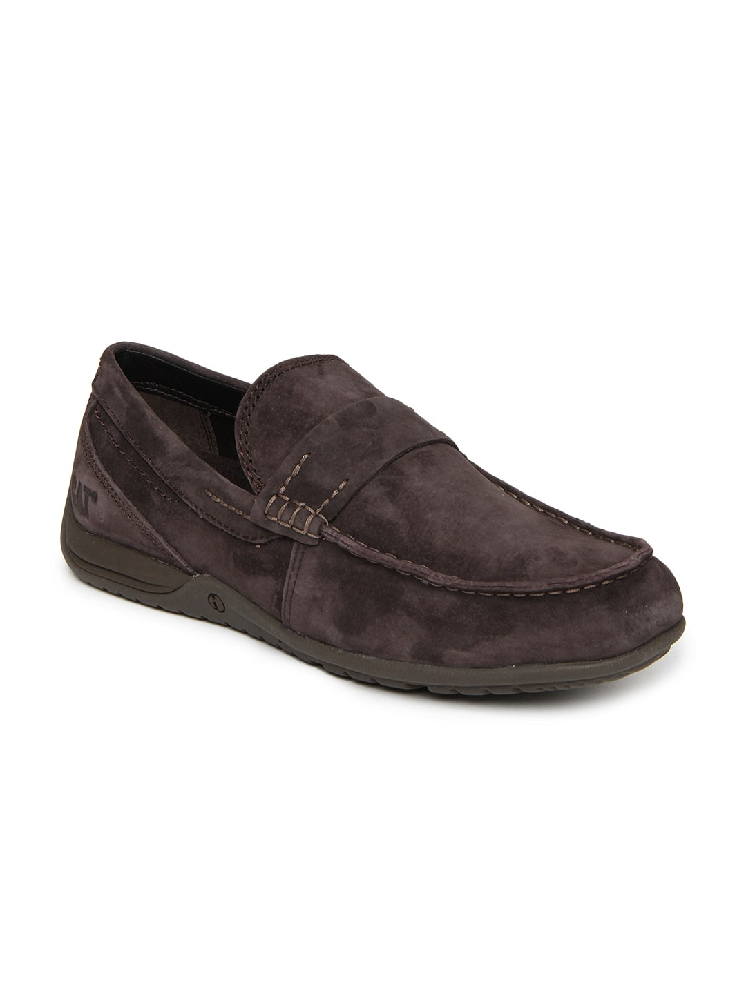 cat coffee brown casual shoes