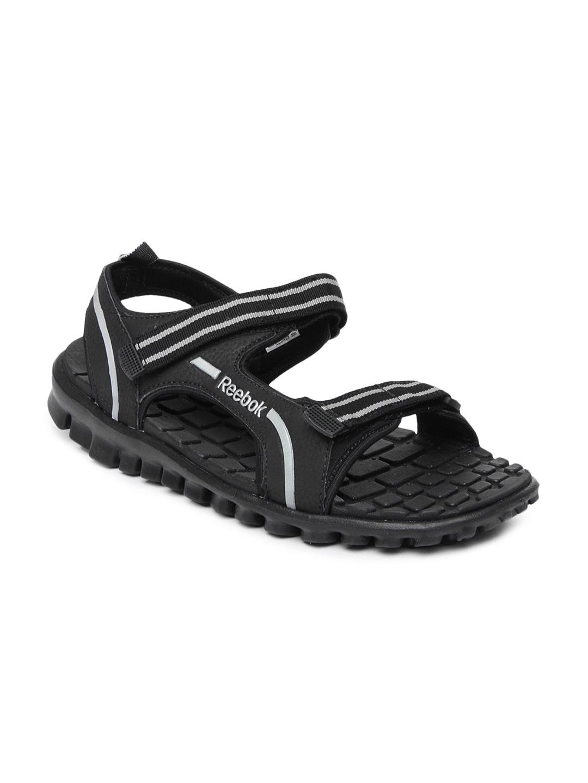 Reebok Men Black Duster Lp Sandals