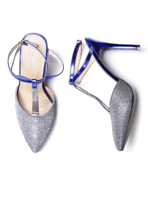 Candies Silver Heels