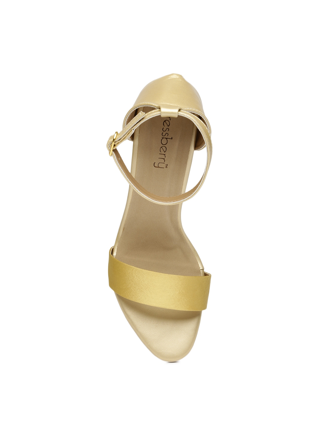 Muted Gold Heels