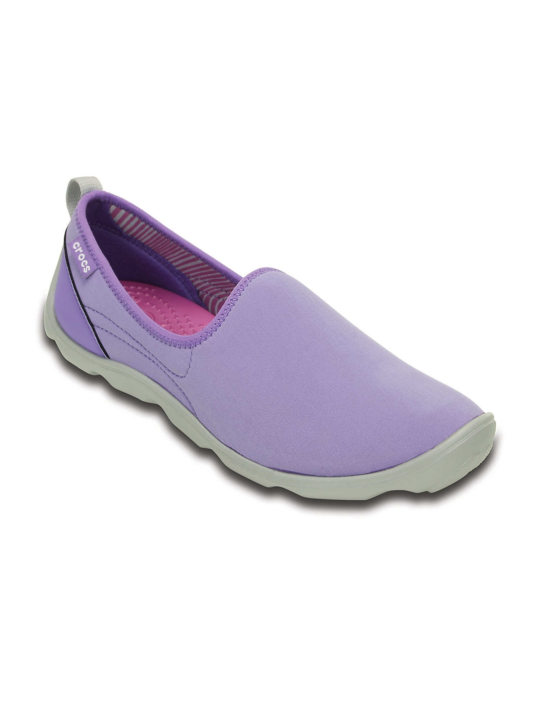 Crocs Women Purple Casual Shoes price Myntra. Loafers ...