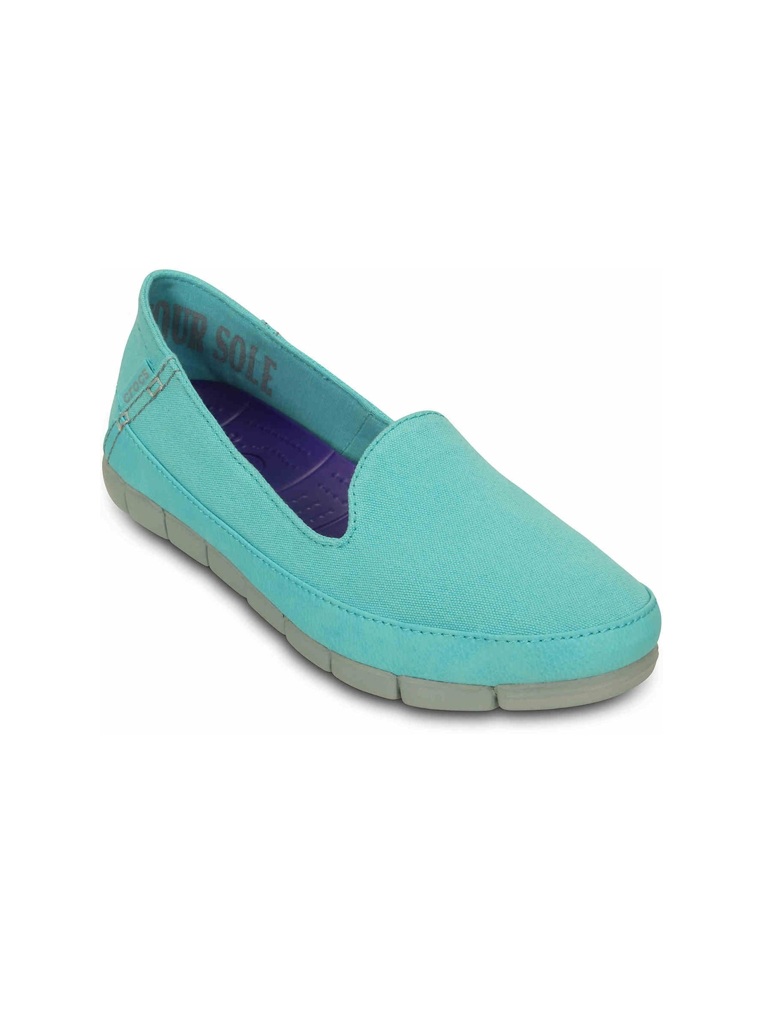 Crocs Women Turquoise Blue Casual Shoes
