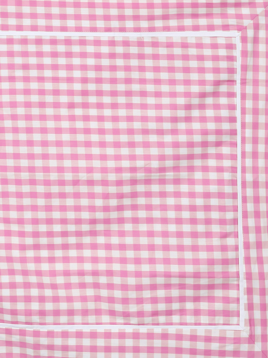 Pink bed sheet texture - Buy Portico New York White Pink 210 Tc Cotton Double Bedsheet With 4 Pillow Covers Bedsheets For Unisex Myntra