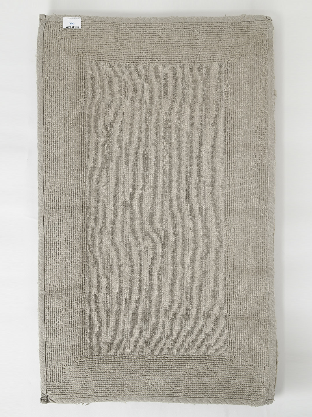 buy spaces taupe hygro cotton rectangular bath rug - bath rugs for