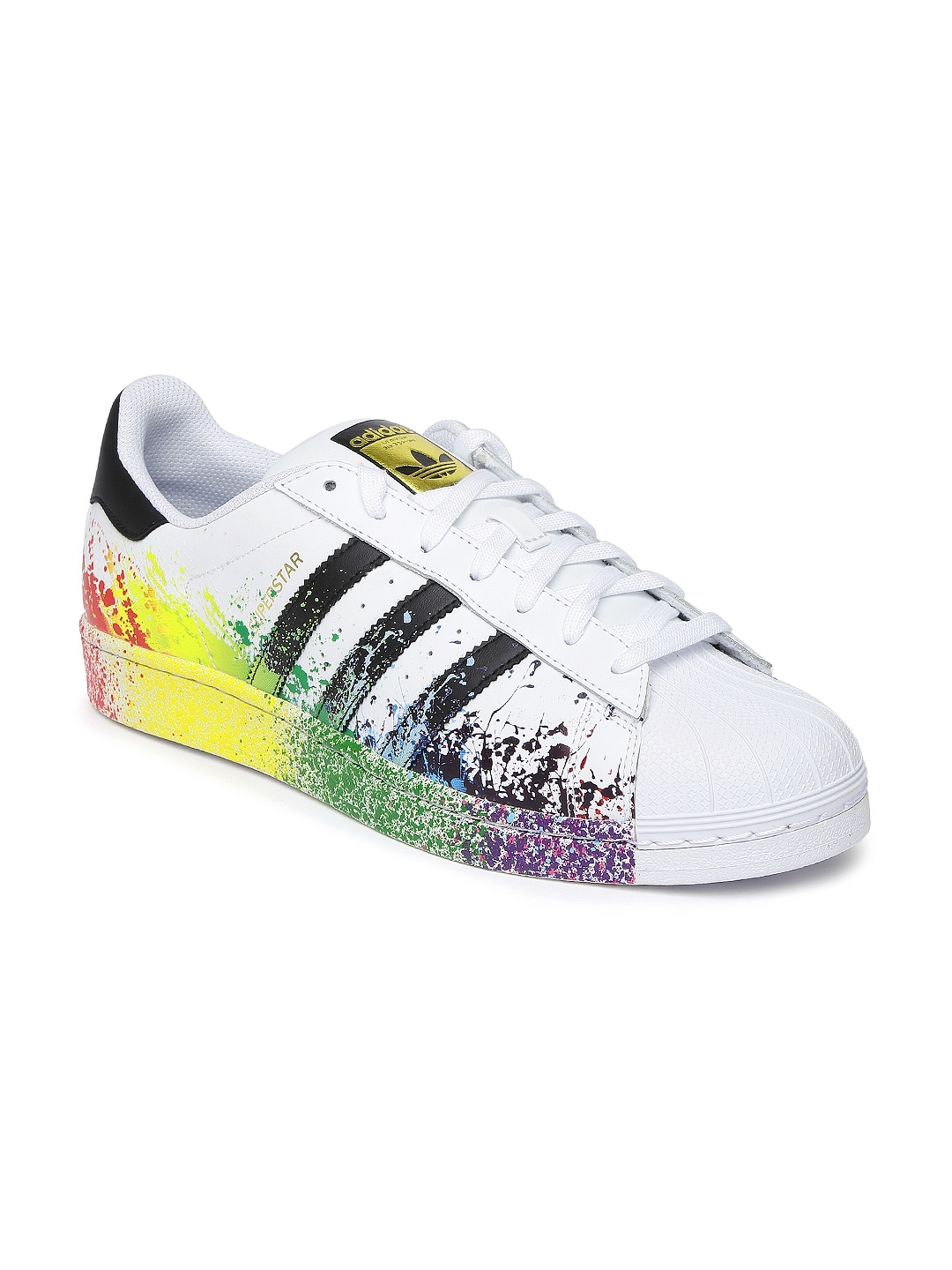 Cheap Superstar Floral Trainers for Women