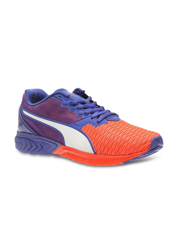 orange blue ignite dual running shoes price