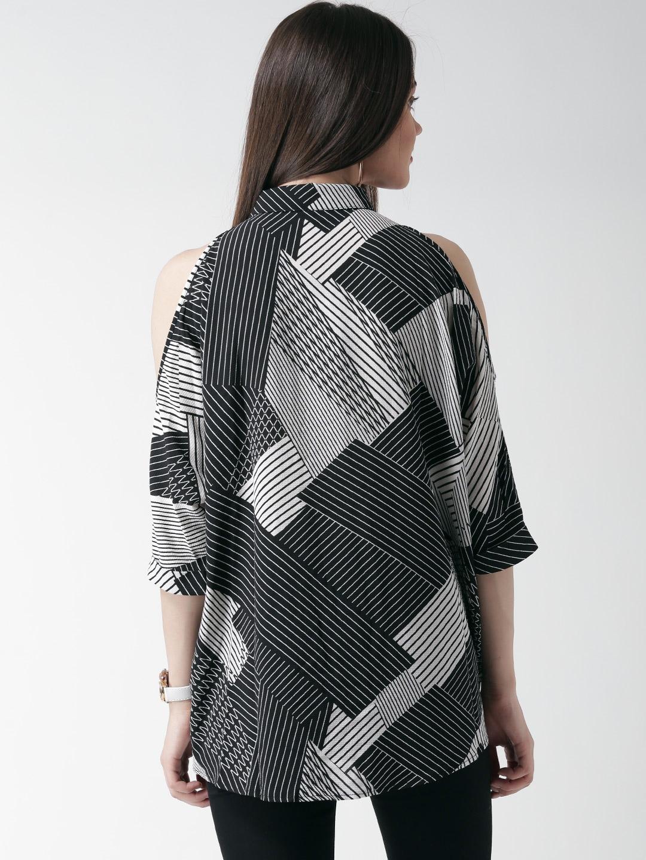 Shirt design new look - Buy New Look Women Black Printed Casual Shirt Shirts For Women Myntra