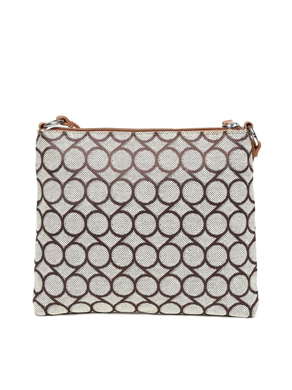 Sling bag nine west - Buy Nine West Beige Brown Patterned Sling Bag Handbags For Women Myntra