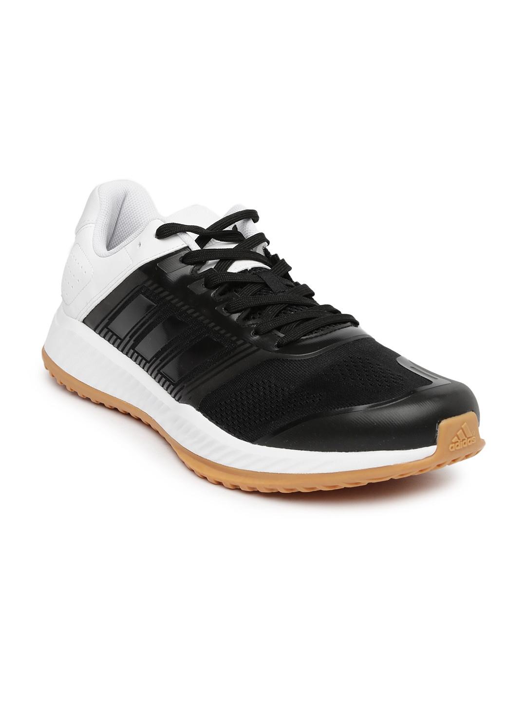 adidas black zg colourblocked shoes price