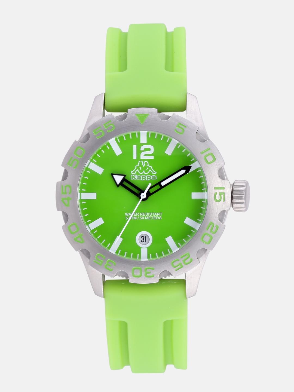 Kappa Women Green Dial Watch Kp 1401l A Price Myntra