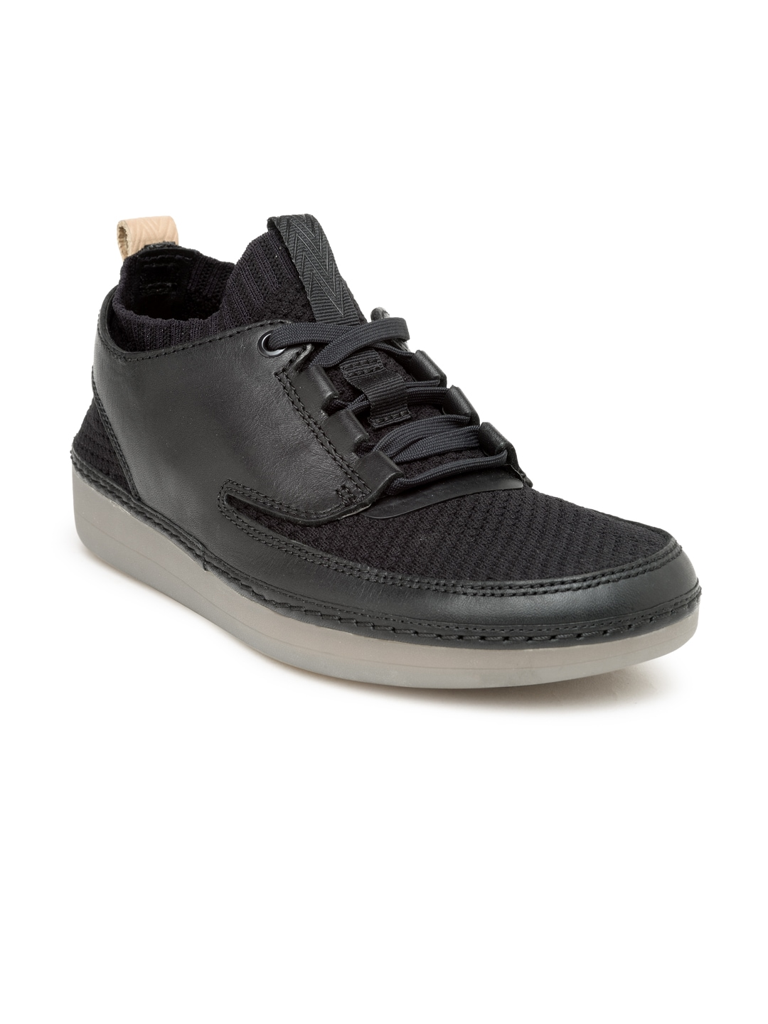 Clarks carries a full range of items suited for any occasion, ranging from leisure wear to dress shoes. Their product lines for men include several notable brands, including the elegant Bostonian. Those looking for something more casual can find canvas shoes as .