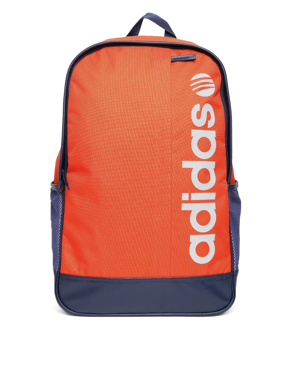 new arrival 8fae4 7be55 orange adidas bag